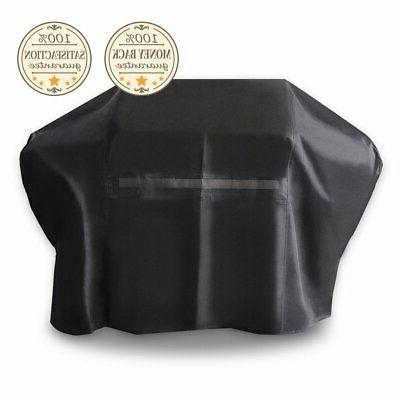 iCOVER 60 inch 600D Heavy-Duty BBQ Smoker Grill Cover
