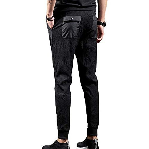 CNMUDONSI Men's Fit Casual Youth Pants