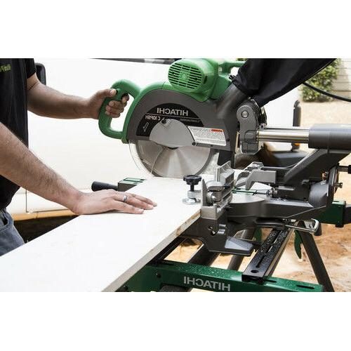Hitachi Dual Compound Miter with