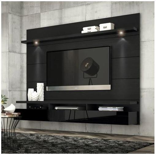 Manhattan Comfort Cabrini Panel 1.8 6 50 Glossy Black