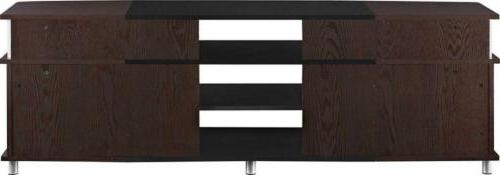 """Ameriwood Home Carson Stand to 70"""" Wide"""