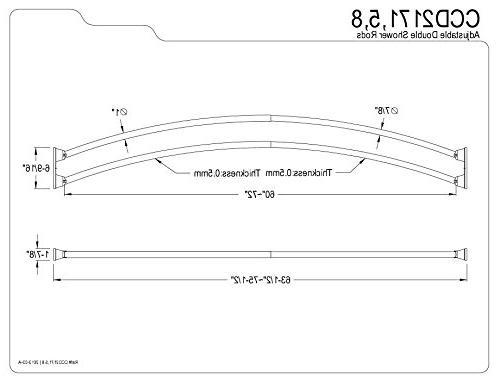 Kingston Brass CCD2175 Adjustable