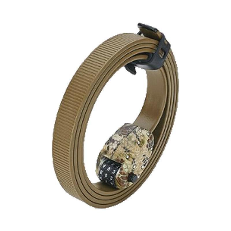 cinch bicycle combination lock w kevlar