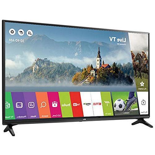 LG HD TV 2017 Model Deco Slim Wall Ultimate Bundle Kit TVs & Adapter