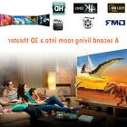 Compact Projection Screen Projector Curtain 16:9 60 Inch Tab