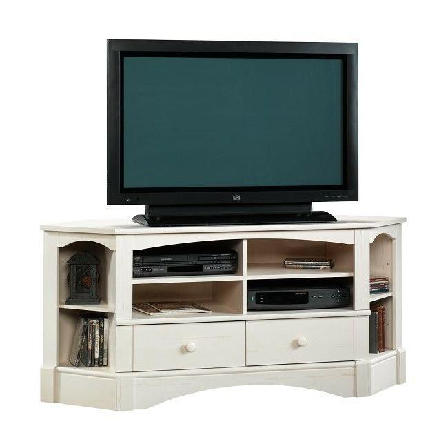 Corner Stand 60 Inch Media Shelves Drawers