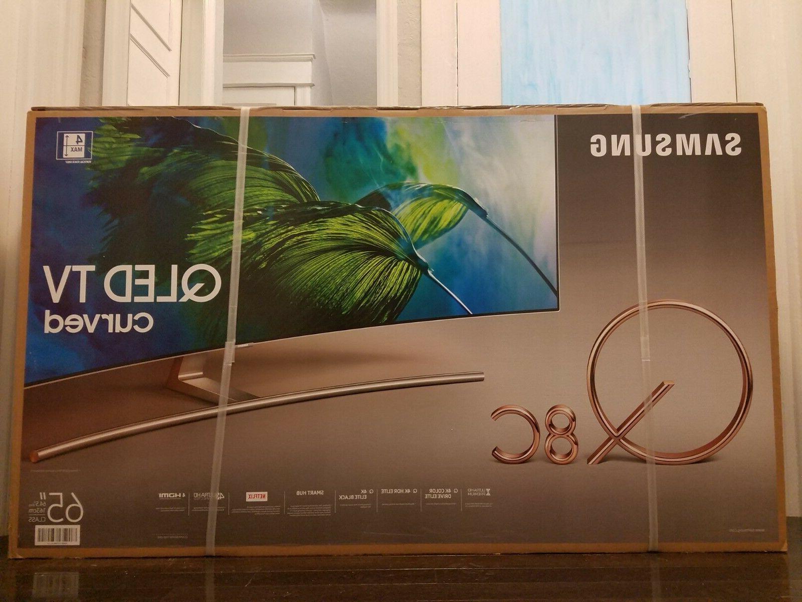 Samsung CURVED 65-Inch 4K Ultra HD  Smart TV