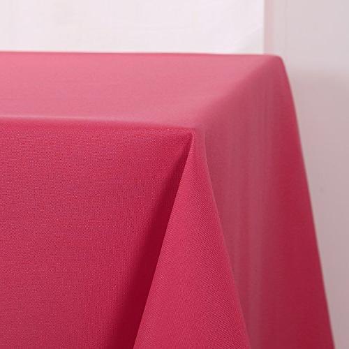 Deconovo Wrinkle Resistant Room Red