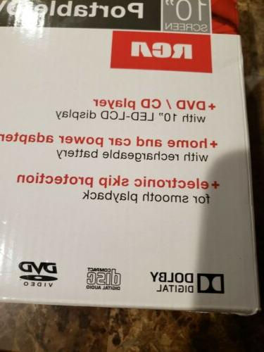 RCA inch Portable Player NEW NIB
