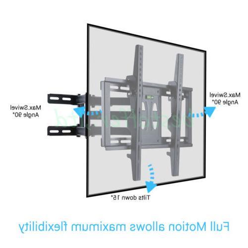 """TV Bracket Swivel Tilt Brand 32-70"""" UHD Cantilever"""