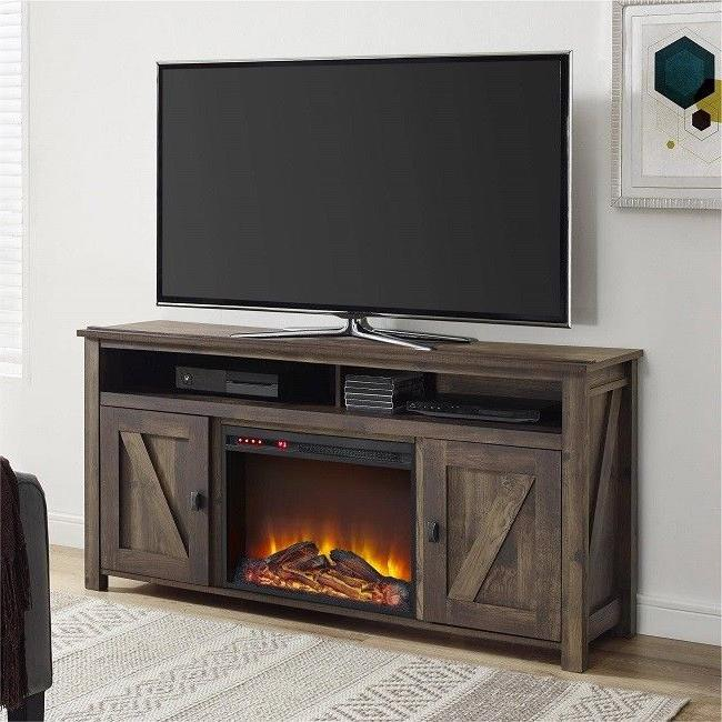 electric fireplace tv stand 60 inch storage