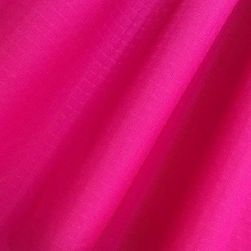 EMMAKITES Hot Pink Nylon Fabric 48g of Water Repellent Dustproof Airtight Excellent Fabric for Inflatable Skydancer Flag