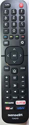 New USARMT EN2A27  Remote for Hisense H6 Series 4K Smart TV
