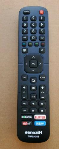HISENSE EN2A27HT SMART TV REMOTE CONTROL FOR 30H5D 40H5D 43H