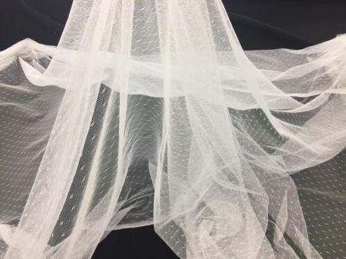 English Netting For Bridal Soft Inch The