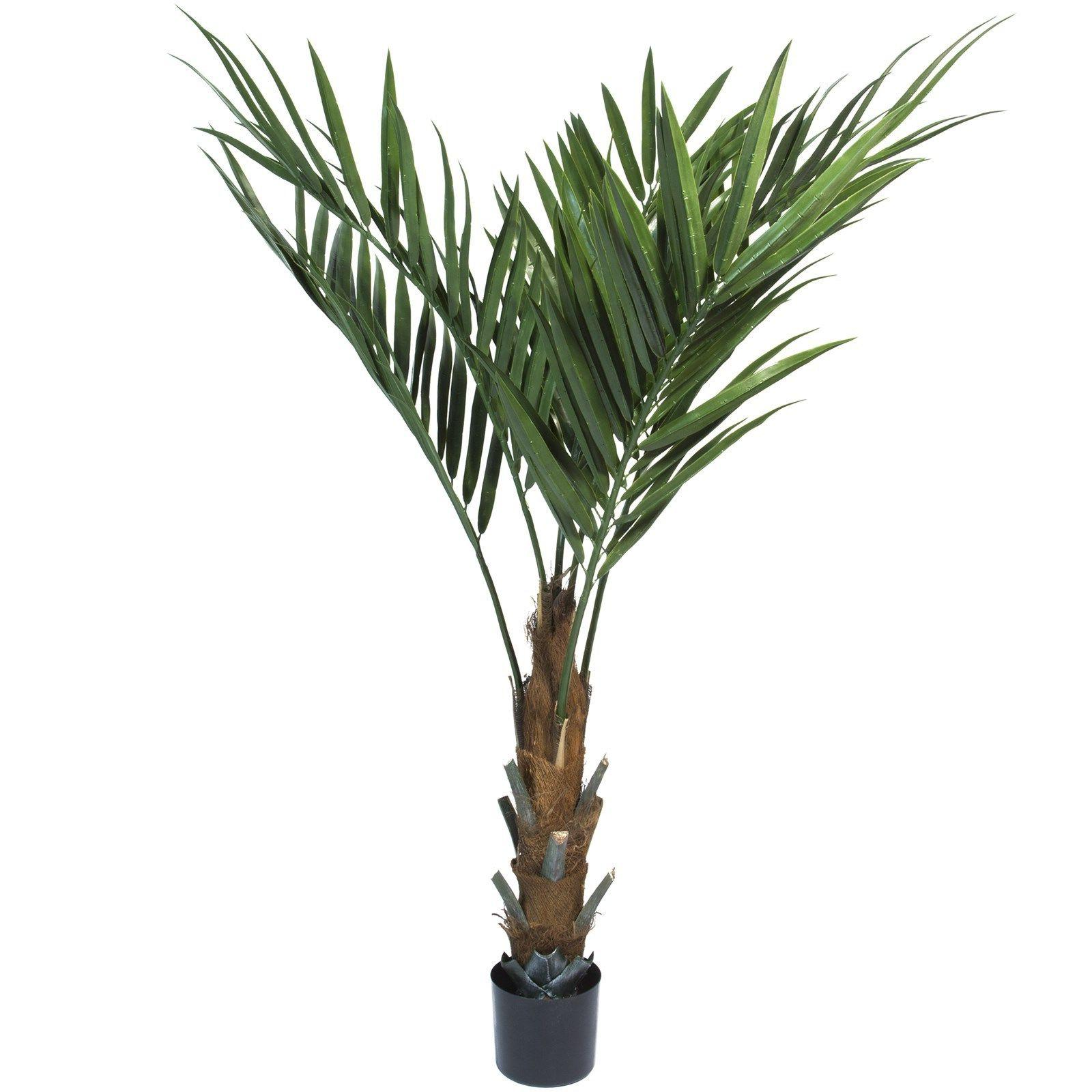 fake artificial kentia palm tree