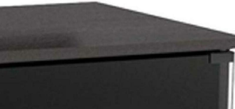 Sonax 60-Inch Tv Component Bench, Ravenwood Black