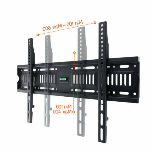 """Fixed Wall Mount Bracket For Inch or 43-75"""" Inch LCD Plasma"""
