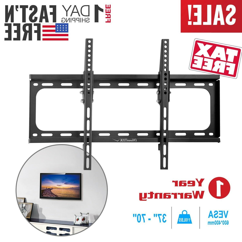 flat tv wall mount bracket 15 tilt
