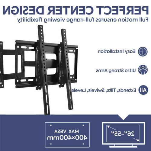 """Full Motion TV Mount Bracket 32""""37""""42""""43""""46""""50""""55""""60"""" LCD"""