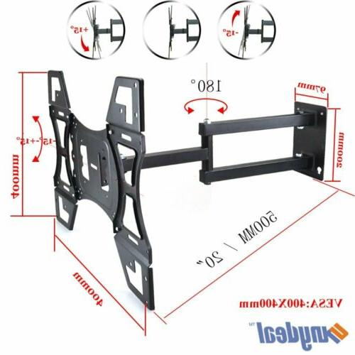 Articulating TV Wall Mount Bracket 37 40 47 50 55 For Samsung
