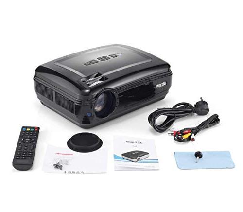 G58 lumens Projector, Projectors Support Cinema Projector,Pico Projector High