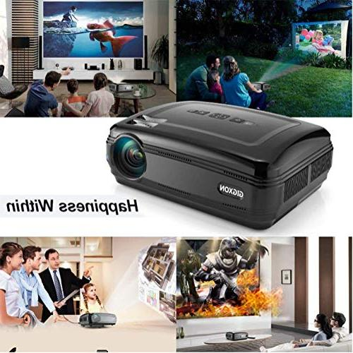 Projector, Projectors Home Cinema Projector,Pico Projector HD High Resolution
