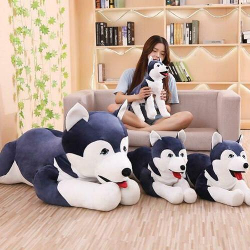 giant husky dog sleeping pillow doll huge