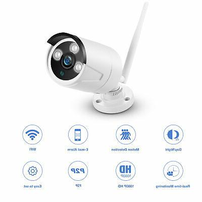 HD 1080P 2.0MP IP Cam Wireless Webcam Home Monitor