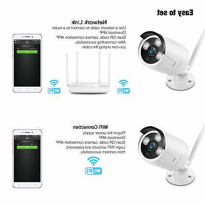 IP Camera Security Wireless Webcam Monitor