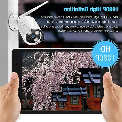 HD 1080P IP Security Wireless Home Monitor