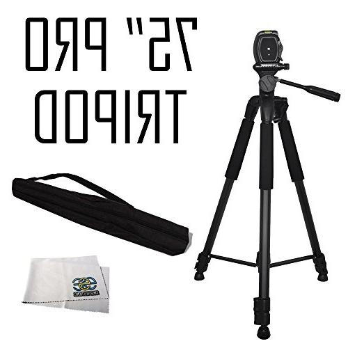 heavy duty pan head tripod
