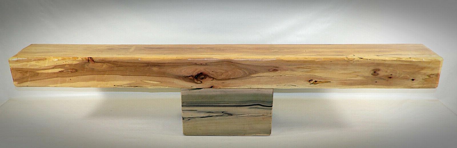 Hickory Mantel Floating Shelf Modern 27 Colors