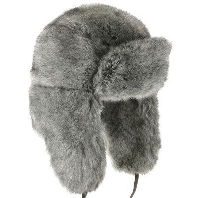 huskie ushanka soft faux fur trapper winter