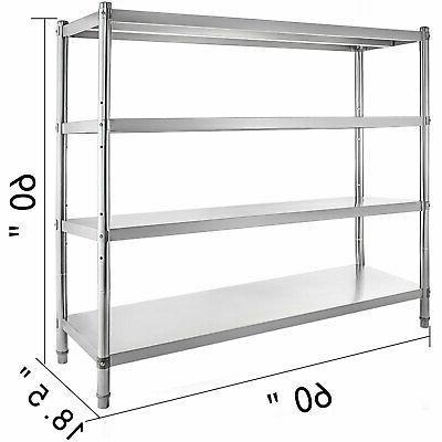 Kitchen Shelf Rack Stainless Steel Organizer Units 60*60
