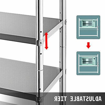 Kitchen Shelves Stainless Steel Units inch