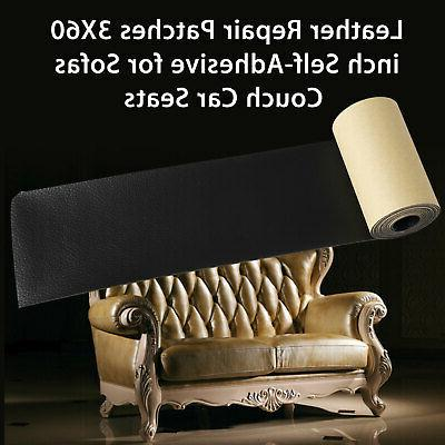 Leather Tape 3X60 Self-Adhesive Repair for Sofas,