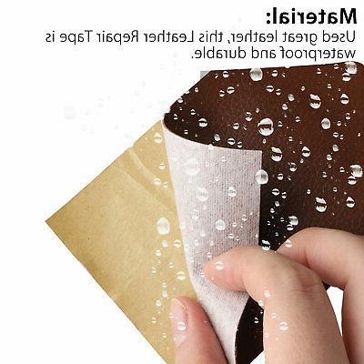 Leather Tape Inch Self-Adhesive Leather for Sofas,