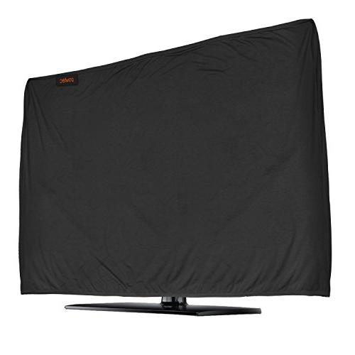 lightweight flat tv cover stretchable