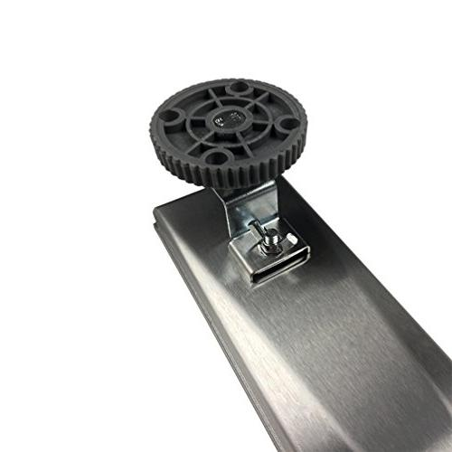 Neodrain Linear Shower Drain with Tile Grate,Professional Steel Rectangle Drain Manufacturer,Floor With Feet, Hair Strainer