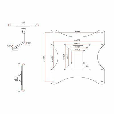 Sonax TV Wall Mount for - in.