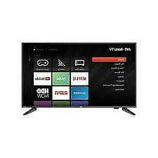 "JVC  43"" Class FHD 1080p Roku Smart LED TV 