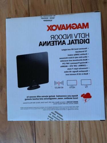 Magnavox HDTV Indoor Digital Antenna TV Sports