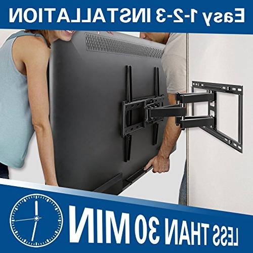 Mounting TV with 26-55'' and Plasma up x 400mm lbs. 16'', 24'' Studs