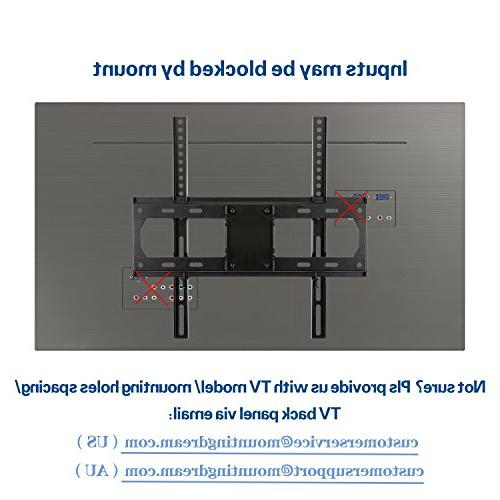 Mounting TV Wall with Articulating Arms 26-55'' LED, LCD, and Plasma up to VESA 400 x 400mm and lbs. 24''