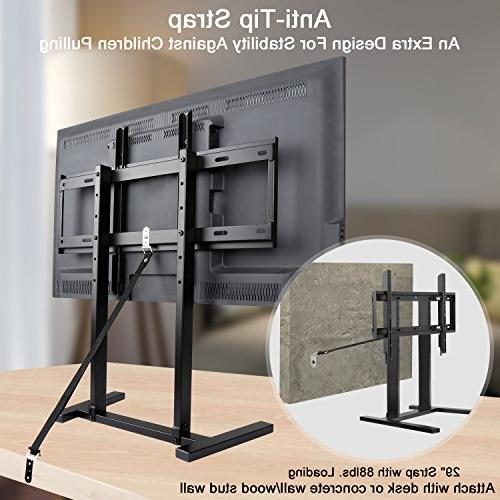 TV Stand Height and Strap 3 Height fits for 42-60 Plasma, LED, LCD Mount VESA to 99 MD5108