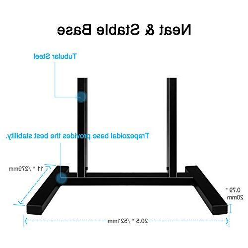 Mounting TV Stand with 3 Height adjustments Anti-tip Strap 3 fits 42-60 Inches Plasma, LCD TV, Mount to MD5108
