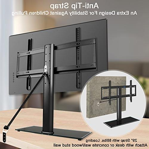 top TV with anti-tip height most 42-60 Plasma, TVs with VESA 600x400mm