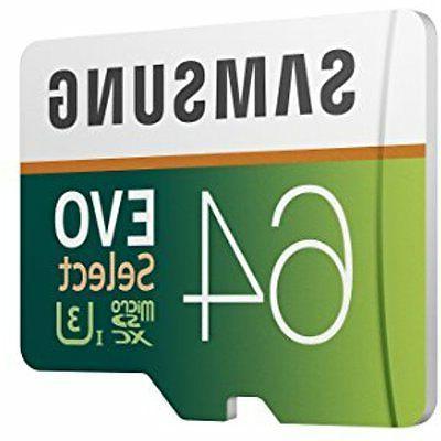 Samsung 100MB/s MicroSDXC EVO with
