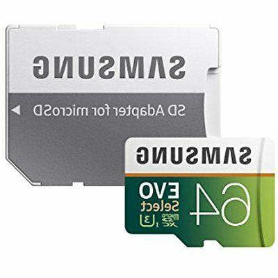 Samsung 100MB/s MicroSDXC EVO Memory Card with